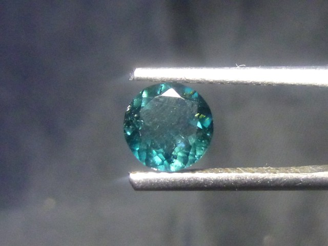 0.77ct Indicolite Tourmaline , 100% Natural Gemstone