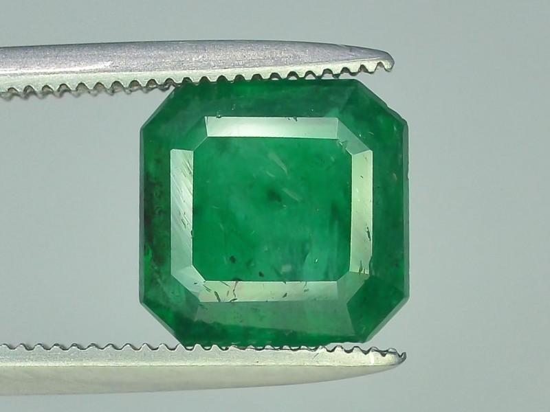 2.70 CT Untreated Vivid Green Emerald
