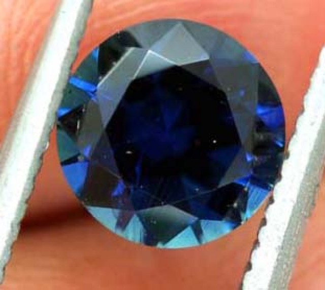 1.03CTS AUSTRALIAN BLUE SAPPHIRE CERTIFIED TBM-1175