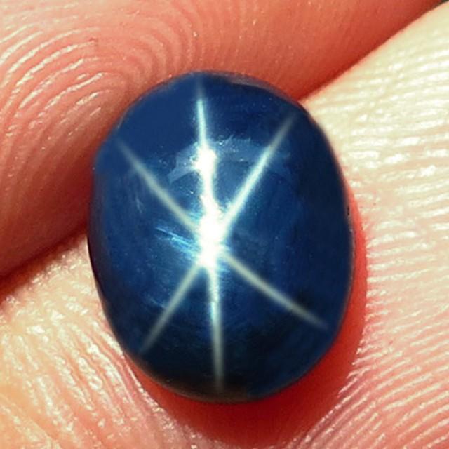 4.39 Carat Thailand Blue Star Sapphire - Gorgeous