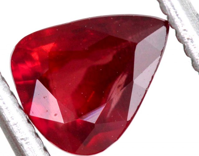 "1.01CTS CERTIFIED UNHEATED ""pigeons's blood  RUBY ANGC-733"