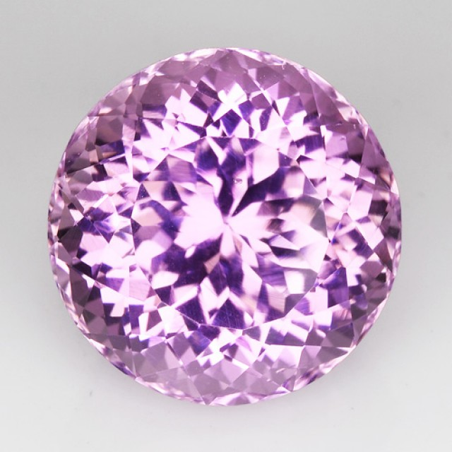 ~ROUND~ 15.87 Cts Natural Hot Pink Kunzite Afghanistan