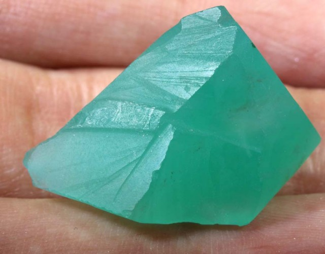 37cts chrysoprase aquaphrase chalcedony cabs tbg 2590