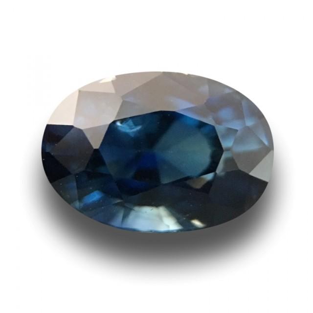 Natural greenish Blue sapphire |Loose Gemstone|Certified| Sri Lanka