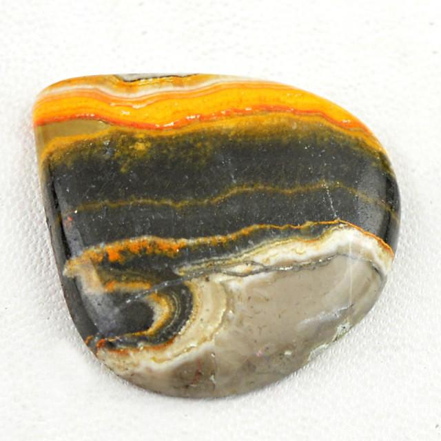 Genuine 50.00 Cts Pear Shape Bumble Bee Jasper Cab  8 - IY6