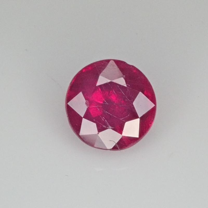 0.94ct Burma Ruby - Bright red!