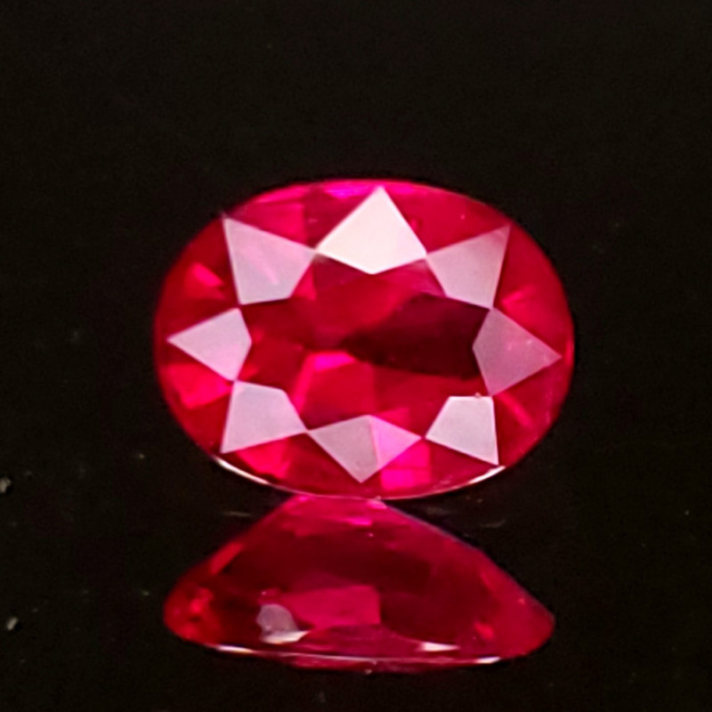 .80ct Burma Oval Ruby