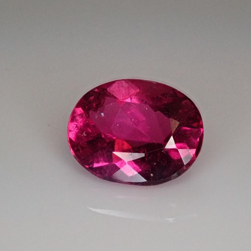 2.50ct Bright Pink Tourmaline Oval