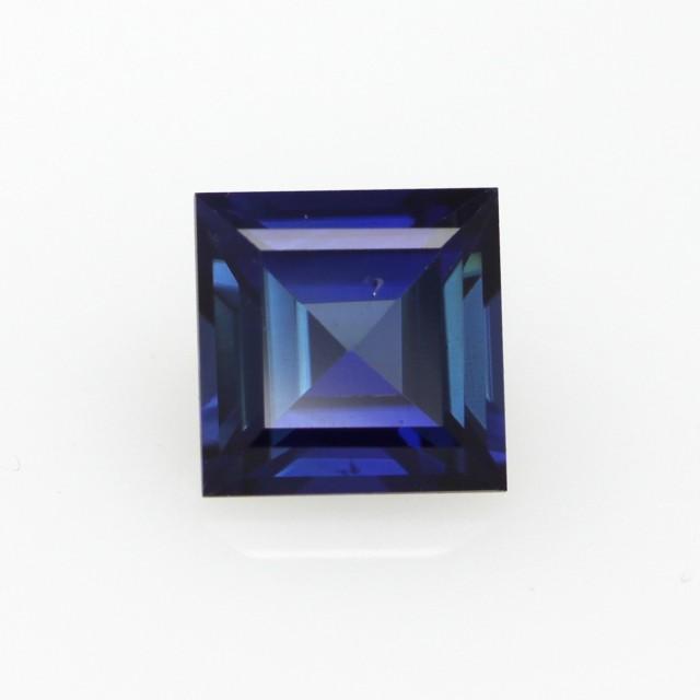 0.79cts Natural Australian Blue Sapphire Square Cut