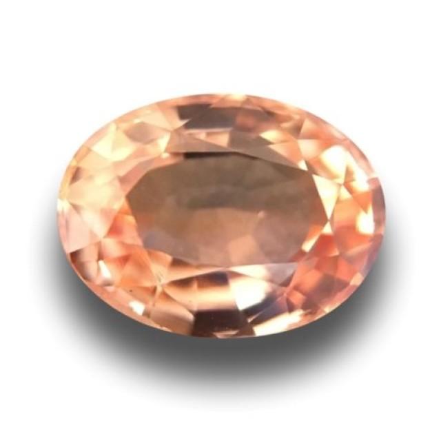 Natural Orange Sapphire |Certified | Loose Gemstone | Sri Lanka - New