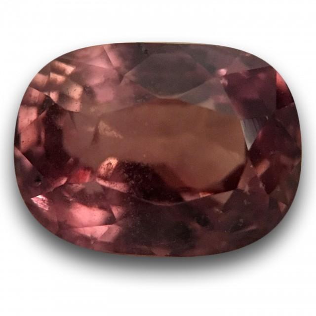 Natural Brown Orange sapphire |Loose Gemstone|New Certified| Sri Lanka