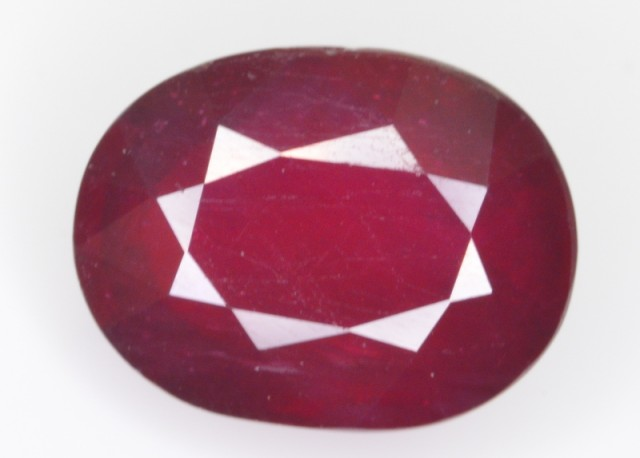 7.80 CT NATURAL AFRICAN RUBY GEMSTONE
