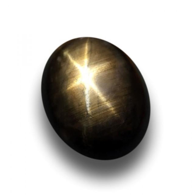 Natural Dark Black Star Sapphire |Loose Gemstone|Certified| Madagascar