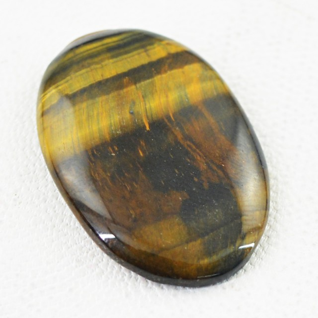 Genuine 20.50 Cts Golden Tiger Eye Untreated Cab