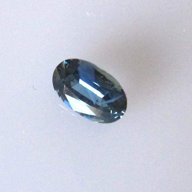 0.77cts Natural Australian Blue Sapphire Oval Shape