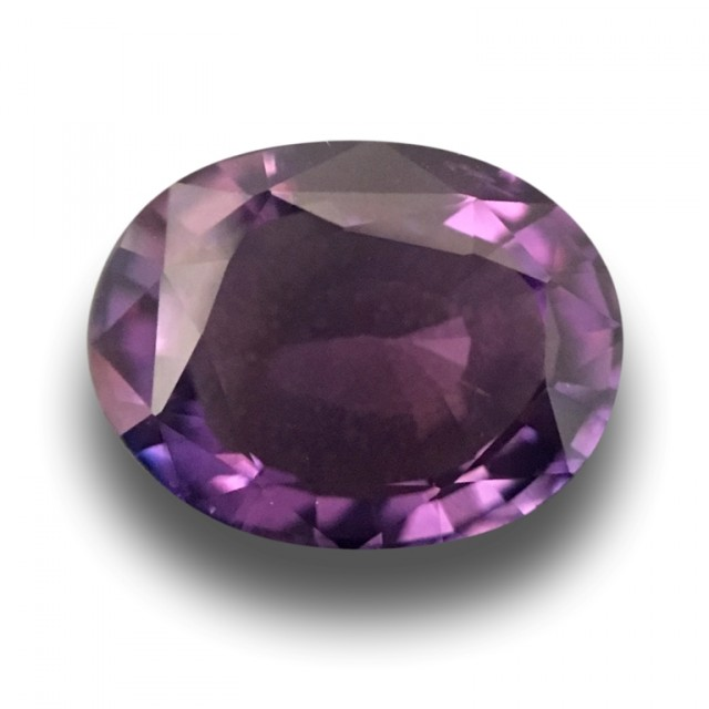 2.2 CTS | Natural Purple Sapphire |Loose Gemstone|New| Sri Lanka