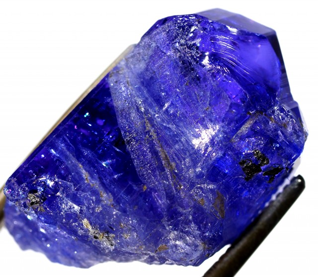 21.30 CTS QUALITY TANZANITE CRYSTAL SPECIMEN  [STS680]SAFE