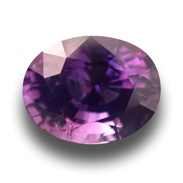 Natural Unheated Purple Sapphire | Loose Gemstone|Sri Lanka - New