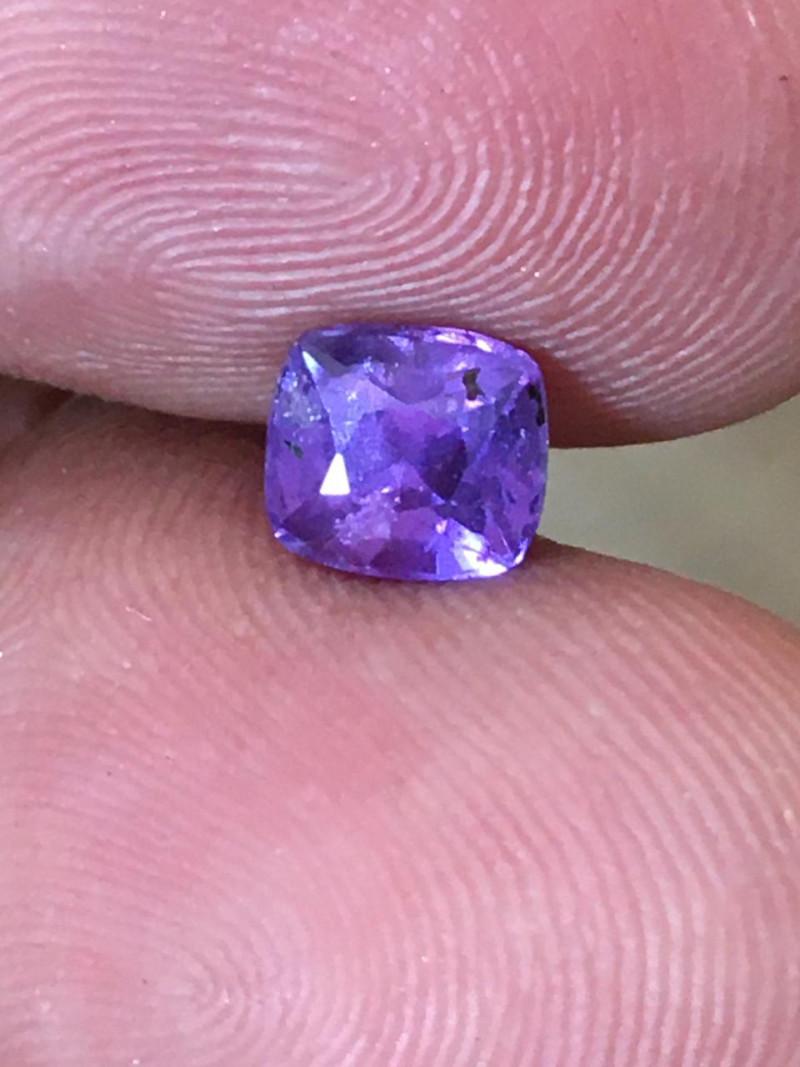 Natural violetish Purple Sapphire |New Certified| Sri Lanka