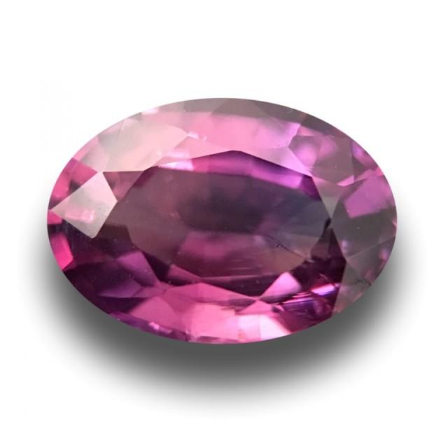 Natural Purple Sapphire  Loose Gemstone New Certified  Sri Lanka