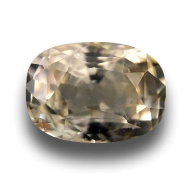 Natural light yellow sapphire |Loose Gemstone|New Certified| Sri Lanka