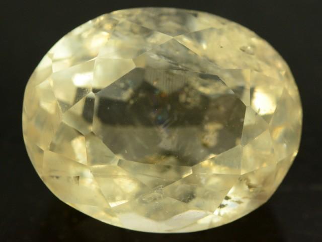 20.75 cts Huge Size Museum Grade FLAWLESS Yellow Beryl - HELIODOR Loose Gem