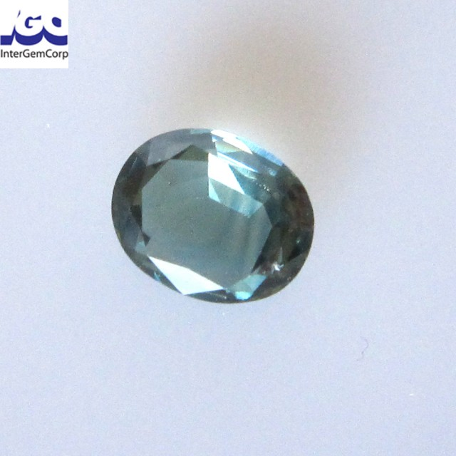 1.49cts Natural Australian Blue Sapphire Oval Shape