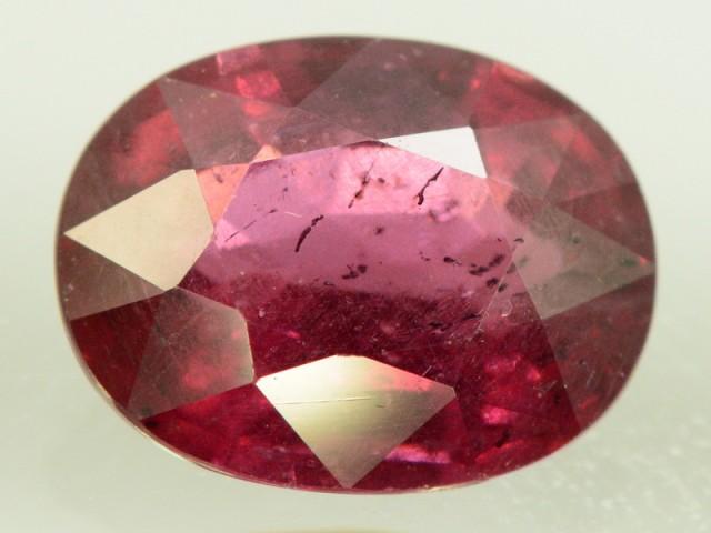 2.40 ct Natural Red Rhodolite Garnet