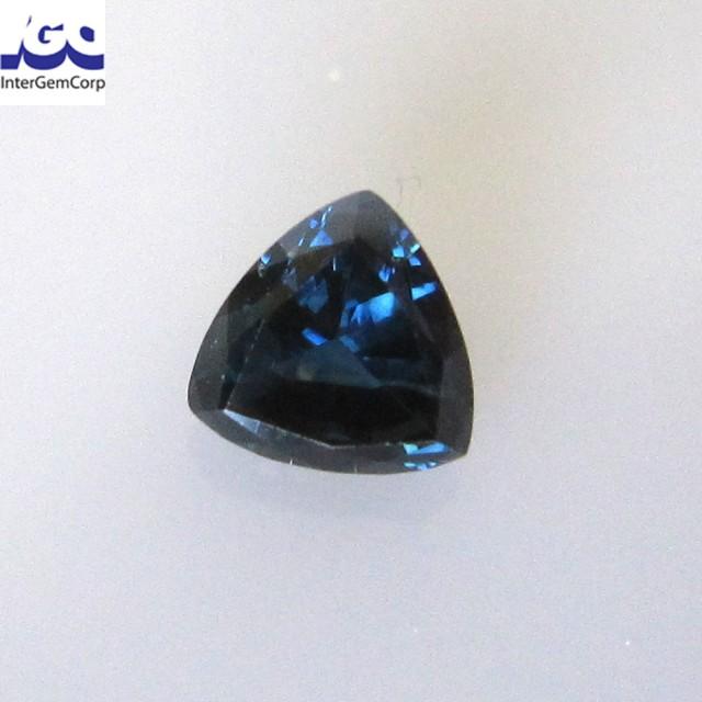 0.83cts Natural Australian Blue Sapphire Trillion Shape