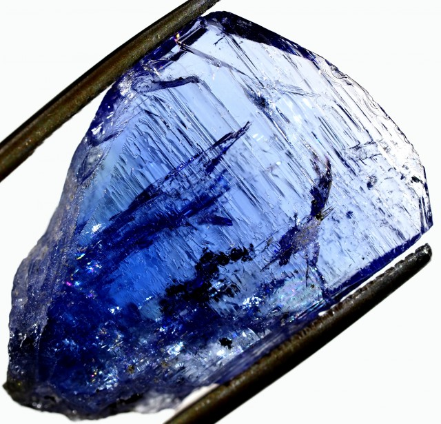 17.50 CTS QUALITY TANZANITE CRYSTAL SPECIMEN  [STS696]SAFE