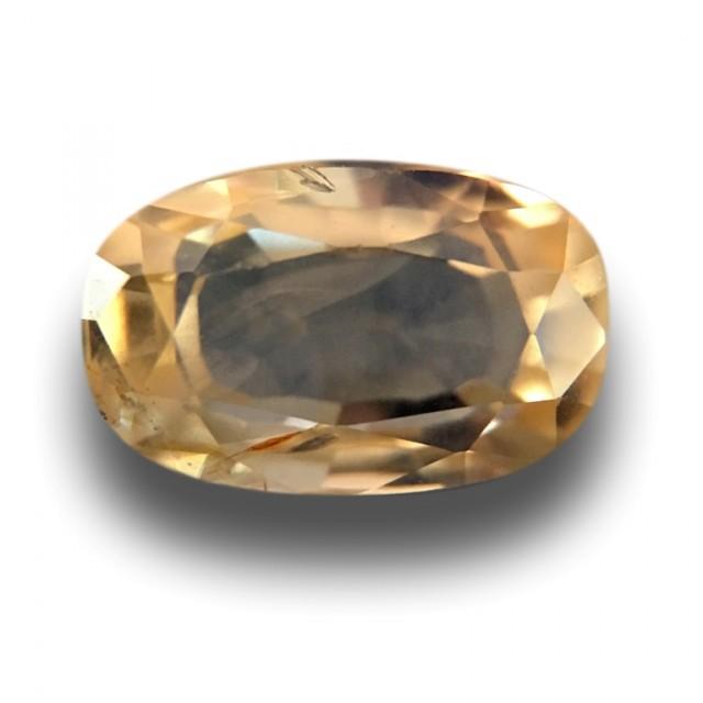 Natural yellow sapphire  Loose Gemstone New Certified  Sri Lanka