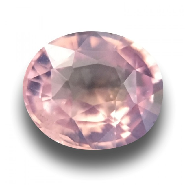 Natural Unheated Orangish Pink Sapphire| Sri Lanka - New
