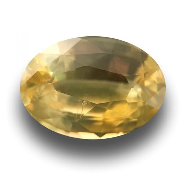 Natural Yellow Yellow Sapphire |Loose Gemstone|New| Sri Lanka