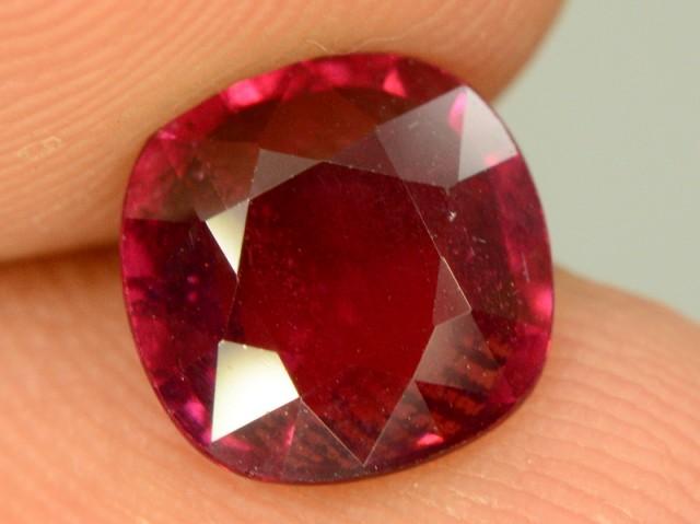2.55 ct Natural Red Rhodolite Garnet