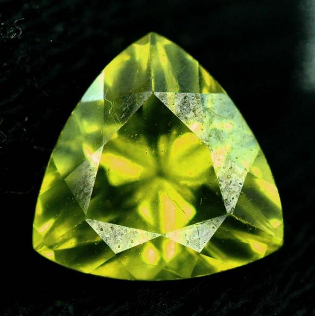 2.45 carats Flawless Untreated Peridot from Supat Pakistan