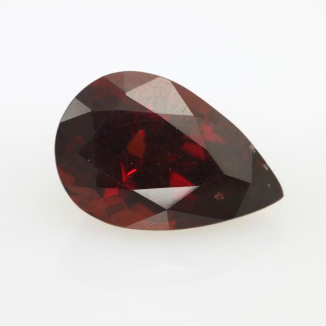 8.18cts Natural Rhodolite Garnet Pear Shape
