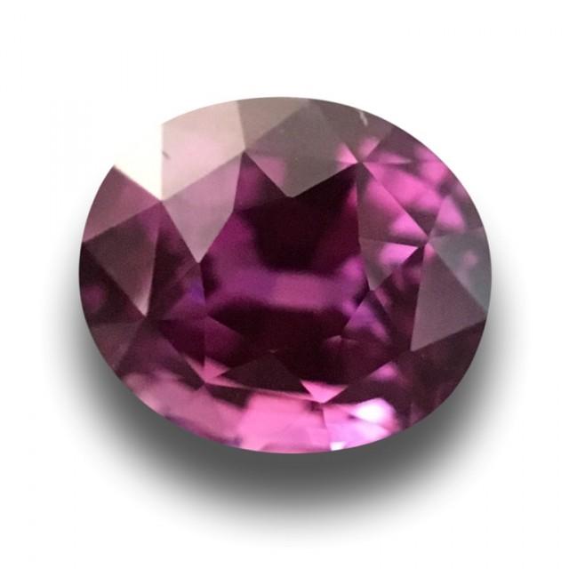 Natural violetish Pink Sapphire  Loose Gemstone Certified  Sri Lanka