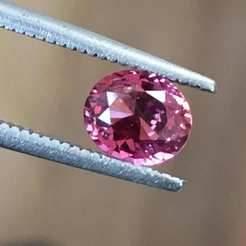 Natural Orangish Pink Sapphire Loose Gemstone New  Sri Lanka