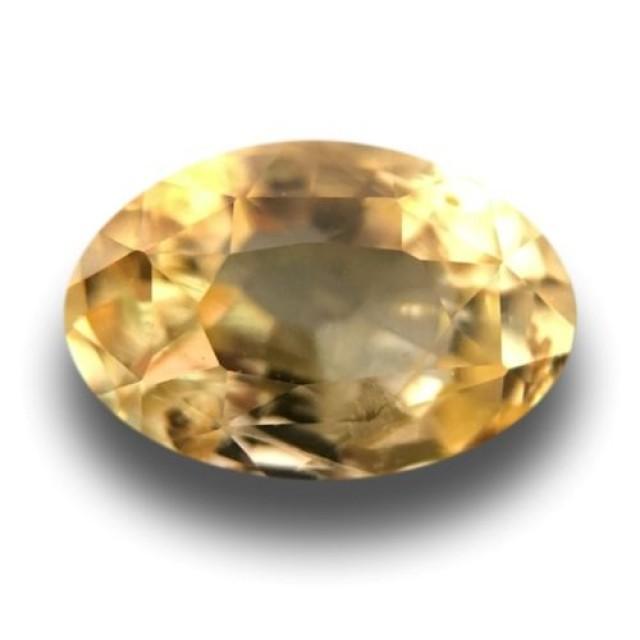 Natural Unheated Yellow Sapphire Loose Gemstone  Ceylon - New