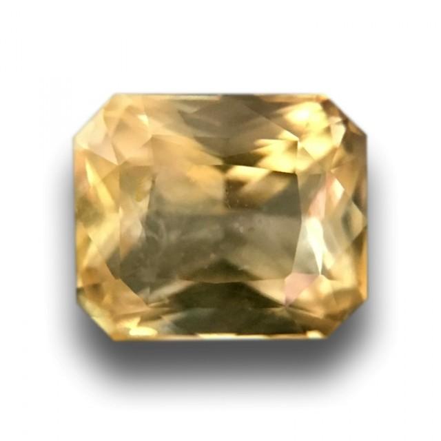 Natural Unheated Yellow Sapphire|Loose Gemstone|Sri Lanka
