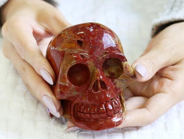 4 Inch Mookatite Skull  PPP 1337