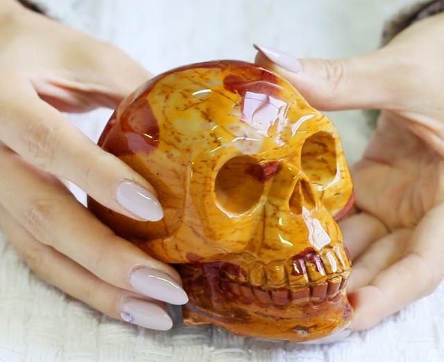 4 Inch Mookatite Skull  PPP 1334