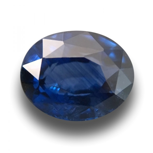 Natural Blue Sapphire |Loose Gemstone|New Certified| Sri Lanka