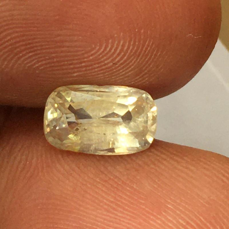 Natural Unheated Yellow Sapphire|Loose Gemstone|Sri Lanka - New