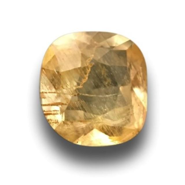 Natural Yellow sapphire|Loose Gemstone|New|Sri Lanka-ceylon