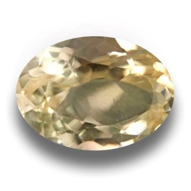 Yellow Sapphire |Loose Gemstone|New Certified| Sri Lanka