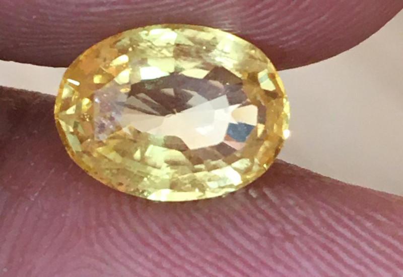 Natural Yellow Sapphire Loose Gemstone Certified Ceylon - NEW
