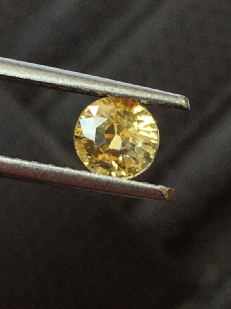Natural Yellow Sapphire   Loose Gemstone   Sri Lanka Ceylon - New