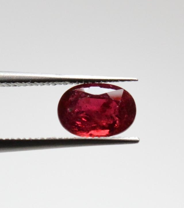 Natural Ruby - 1,05 carats - Gemstone