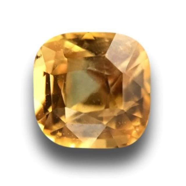 Certified|Natural Yellow Sapphire|Loose Gemstone|Ceylon - New